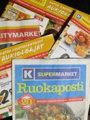 ulotki z supermarketu